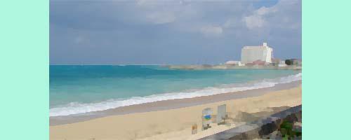 海岸のホテル